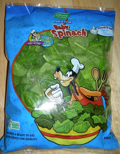 disney spinach