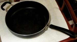 old sauce pan