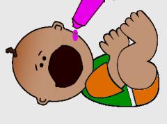 polio vaccine baby