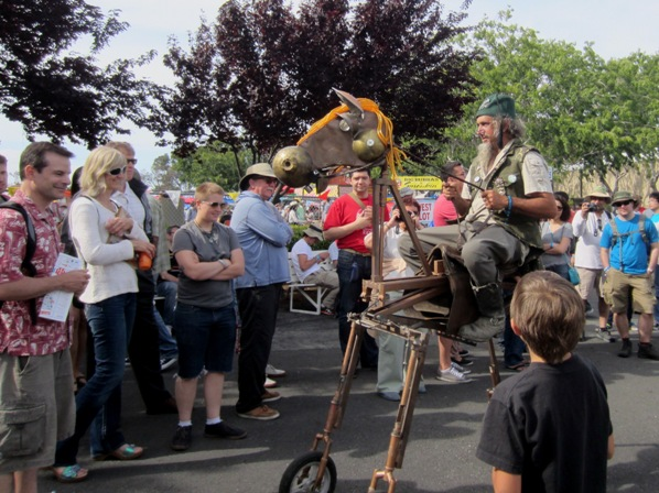 mobile rocking horse