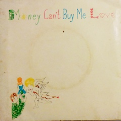money cant buy me love 45 rpm jacket